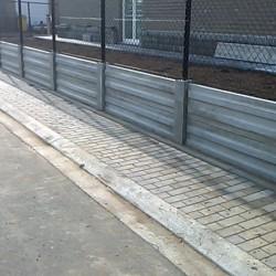 versterkte betonplaat 186 x 50