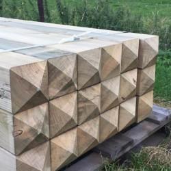 houten poortpaal (ook in creo)