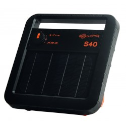 S40 solar schrikdraadapparaat incl. batterij
