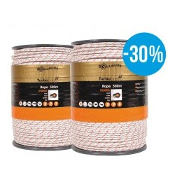 TurboLine cord (wit, duopack 2x 500 meter)