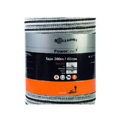 PowerLine lint 40 mm (wit, 200 meter)