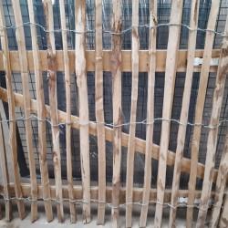 Kastanje poort 1.20 hoogte x 1 m breedte