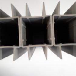 vierkant betonplaathouder pvc 60 x 60