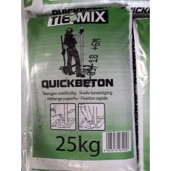 Quickbeton of turbobeton per 25 kg