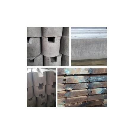 Pakket planken hoogte 220 cm per 2M