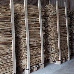 kastanje afsluiting hoogte 1 m  x 10 m