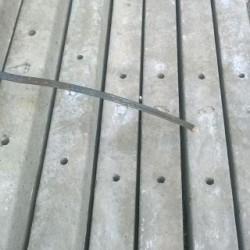 Weidepaal 260cm x 9,5 x 9.5 cm